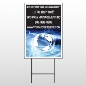 World Wide Web 437 Wire Frame Sign