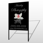 Flower 41 H-Frame Sign