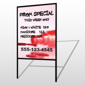 Pink Polish 486 H Frame Sign