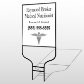Med 51 Round Rod Sign
