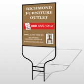 Outlet Chair 527 Round Rod Sign