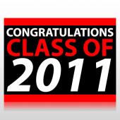 Congratulations Class of 2011 Sign Panel