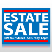 Estate Sale Sign Panel