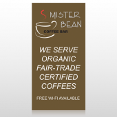 Coffee Bar 27 Custom Decal