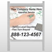 "Hand Planning 260 48""W x 48""H Site Sign"