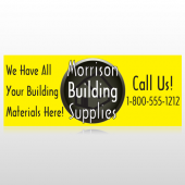 Small Black House 219 Custom Banner