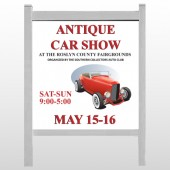 "Car Show 123-48""H x 48""W Site Sign"