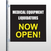 Medical Liquidators 98 Pole Banner