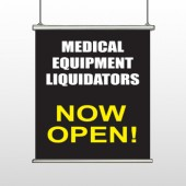 Medical Liquidators 98 Hanging Banner