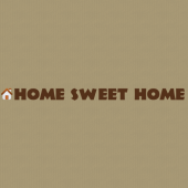 Sweet Home 235 Wall Lettering