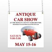 Car Show 123 Window Sign