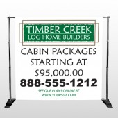Builder 40 Pocket Banner Stand