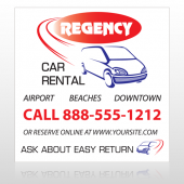 Rental Car 39 Custom Decal