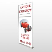 Car Show 123 Retractable Banner Stand