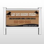 "Boarding Stable 304 48""H x 96""W Site Sign"