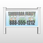 "Suburbs 248 48""H x 96""W Site Sign"