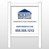 """Merchant 484 48""""H x 48""""W Site Sign"""