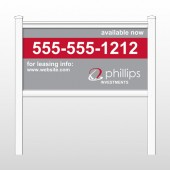 "Phillips2 463 48""H x 96""W Site Sign"