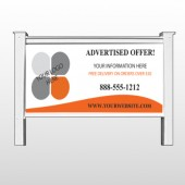 "Advertised Offer 150 48""H x 96""W Site Sign"