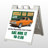 Muscle Car 124  A Frame Sign
