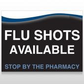 Flu Shot 6 Custom Sign