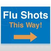 Flu Shot 8 Custom Signs