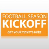 Football Season Kickoff Banner