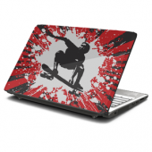 Grunge Skater Laptop Skin