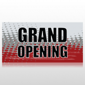 Grungy Grand Opening Banner