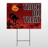 Halloween 11 Wire Frame Sign