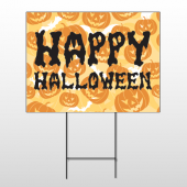 Halloween 18 Wire Frame Sign
