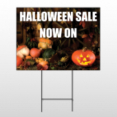 Halloween 9 Wire Frame Sign