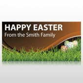 Happy Easter From Our Family Banner