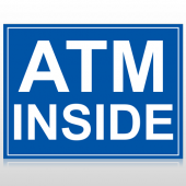 ATM 115 Custom Sign