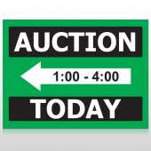 Auction 60 Custom Sign