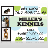 Dog Kennels 300 Site Sign