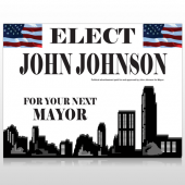 Elect Mayor 274 Custom Sign