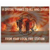 Fire 432 Custom Sign