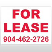 For Lease 9 Custom Sign