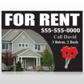 For Rent 124 Custom Sign