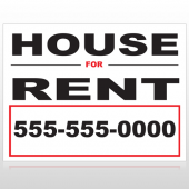 For Rent 138 Custom Sign