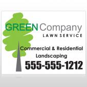 Lawn Service 98 Custom Sign