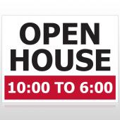 Open House 21 Custom Sign