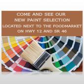 Paint Brushes 256 Custom Sign