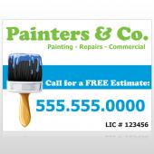 Painter 71 Custom Sign
