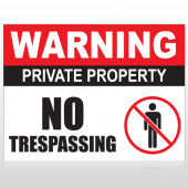 Private Property 95 Custom Sign