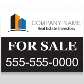 Real Estate Investors 101 Custom Sign