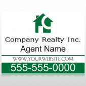 Realty 100 Custom Sign