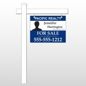 "Agent Photo 37 18""H x 24""W Swing Arm Sign"