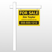 "Commercial 59 18""H x 24""W Swing Arm Sign"